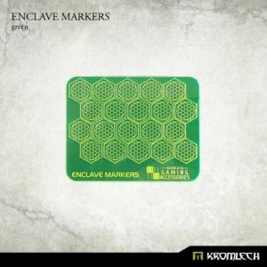 Kromlech   Status & Wound Markers Enclave Markers [green] (20) - KRGA050 - 5902216115248