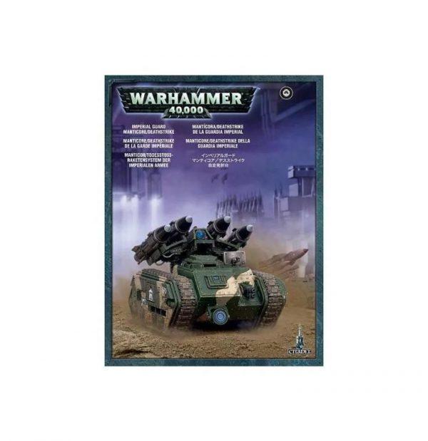 Games Workshop (Direct) Warhammer 40,000  Astra Militarum Astra Militarum Manticore / Deathstrike Missile Launcher - 99120105049 - 5011921018857