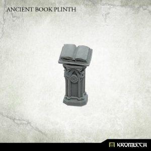 Kromlech   Kromlech Terrain Ancient Book Plinth (1) - KRBK036 - 5902216118089