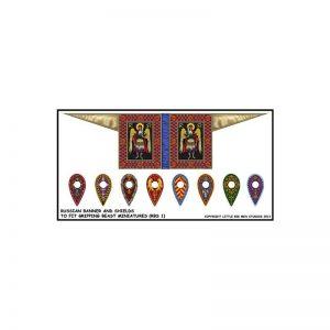 Gripping Beast SAGA  SAGA Era of Princes Banner & Shield Transfers - LBMS SAGA014 -