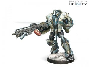 Corvus Belli Infinity  PanOceania Jotums (HMG Flamethrower, D.E.P.) - 280254-0338 - 2802540003385