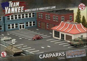 Gale Force Nine   Battlefield in a Box Team Yankee: Car Parks - BB227 - 9420020236677