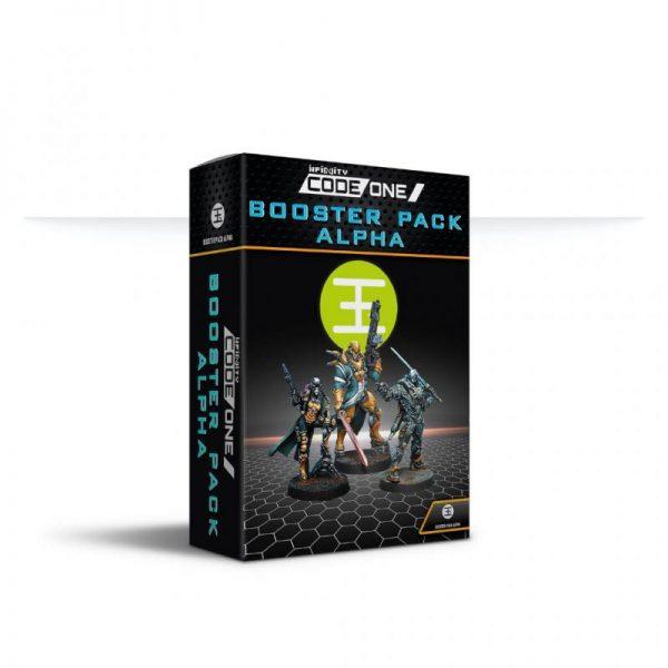 Corvus Belli Infinity  Yu Jing Yu Jing Booster Pack Alpha - 281318-0859 - 2813180008593