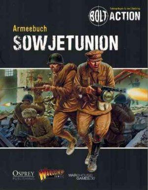 Warlord Games Bolt Action  Soviet Union (BA) Armeebuch Sowjetunion - WG-BA-DE-005 - TBA
