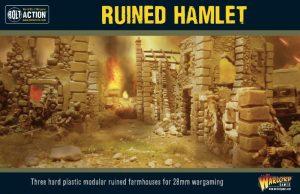 Warlord Games Bolt Action | Pike & Shotte | Black Powder  Warlord Games Terrain Ruined Hamlet - 802010005 - 5060572500013