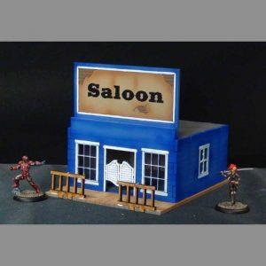 TTCombat   Wild West Scenics (28-32mm) Saloon - WWS004 -