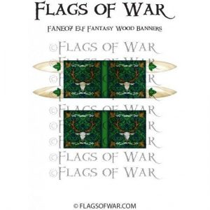 North Star Oathmark  Oathmark Elf Fantasy Wood Banners - FANE07 -