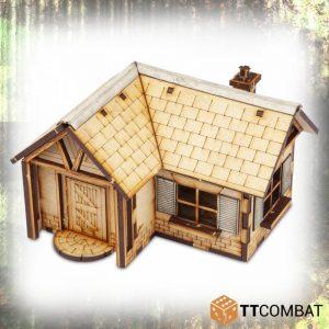 TTCombat   World War Scenics 25mm Village Maison Celeste - TTSCW-WAR-037 -