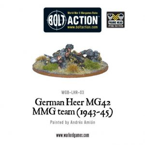 Warlord Games Bolt Action  Germany (BA) German Heer MG42 MMG Team - WGB-LHR-03 - 5060200846094
