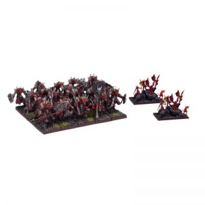 Mantic Kings of War  Forces of the Abyss Lower Abyssals Regiment - MGKWA101 - 5060208868463