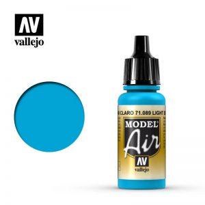 Vallejo   Model Air Model Air: Light Sea Blue - VAL089 - 8429551710893