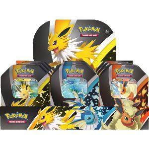 Pokemon Pokemon - Trading Card Game  Pokemon Pokemon TCG: Eevee Evolutions Tin - POK80905 - 820650809057