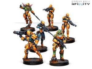 Corvus Belli Infinity  Yu Jing Invincible Army Yu Jing Sectorial Starter Pack - 281304-0753 - 2813040007537