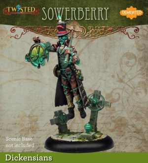 Demented Games Twisted: A Steampunk Skirmish Game  Dickensians Sowerberry (Resin) - RDR004 -
