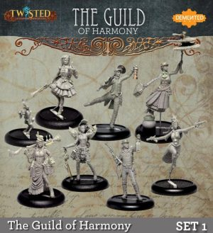 Demented Games Twisted: A Steampunk Skirmish Game  Twisted Essentials Guild of Harmony Set 1 - RGM901 - RGM901