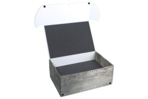 Safe and Sound   Safe and Sound Cases Combi box with 68mm deep raster foam tray and  for 72 minis on 32mm bases - SAFE-C-R682X36M - 5907222526286