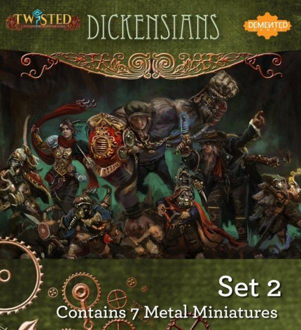 Demented Games Twisted: A Steampunk Skirmish Game  Dickensians Dickensians Box Set 2 - RDM902 - RDM902