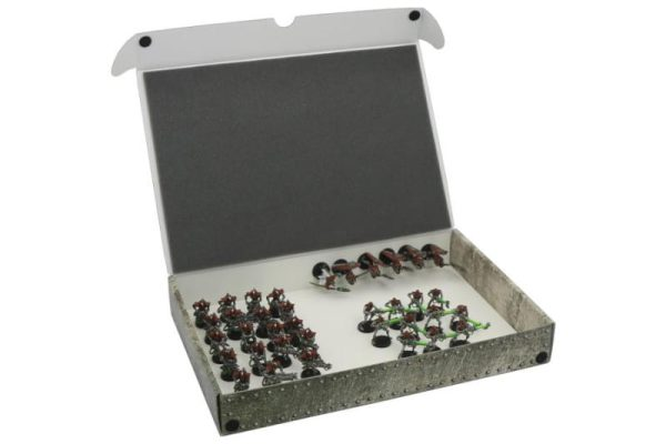 Safe and Sound   Safe and Sound Cases Full-size Standard Box for magnetically-based miniatures + metal plate on the inside rear side of the box - SAFE-ST-MAG02 - 5907459694895