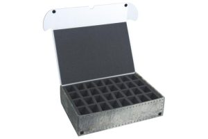 Safe and Sound   Safe and Sound Cases XL Box for 64 miniatures on 40mm bases - SAFE-XL-2X32M - 5907222526880