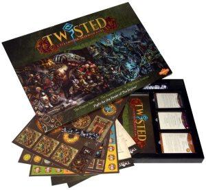 Demented Games Twisted: A Steampunk Skirmish Game  Twisted Essentials Twisted Rulebook Box - RPR001 - TWISTEDRPR001