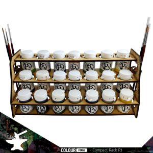 The Colour Forge   Paint Racks Compact Paint Rack (P3) - TCF-ACC-004 - 5060843100621