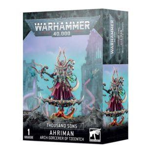 Games Workshop Warhammer 40,000  Thousand Sons Ahriman, Arch-sorceror of Tzeentch - 99120102131 - 5011921153695