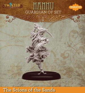 Demented Games Twisted: A Steampunk Skirmish Game  Scions of the Sands Guardian of Set Dervish Hannu (Metal) - REM101 -
