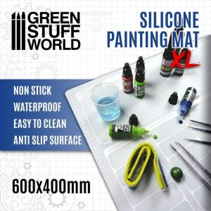 Green Stuff World   Paint Palettes Silicone Painting Mat 600x400mm - 8435646500737ES -