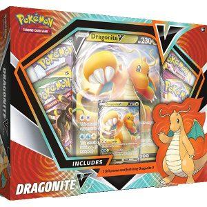 Pokemon Pokemon - Trading Card Game  Pokemon Pokemon TCG: Dragonite V Box - POK80903 - 820650809033