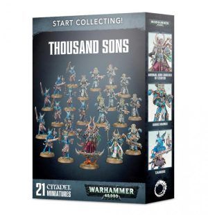 Games Workshop Warhammer 40,000  Thousand Sons Start Collecting! Thousand Sons - 99120102095 - 5011921113224