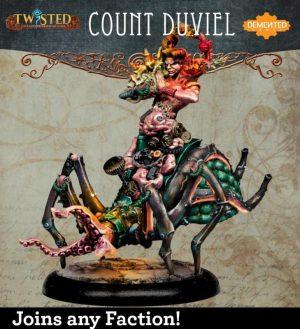 Demented Games Twisted: A Steampunk Skirmish Game  Dickensians Count Duviel (Full Kit) - RNFM001 - RNFM001