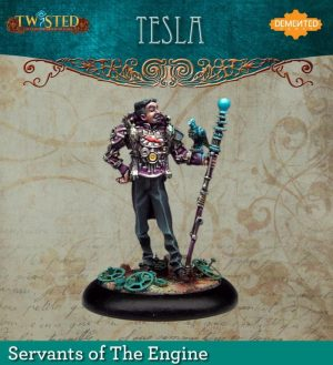 Demented Games Twisted: A Steampunk Skirmish Game  Servants of the Engine Tesla (Resin) - RSR005 -