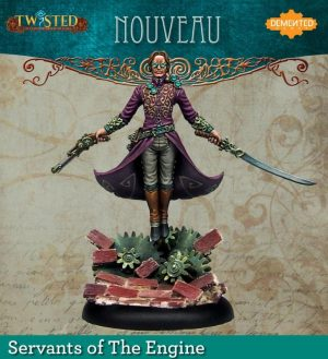 Demented Games Twisted: A Steampunk Skirmish Game  Servants of the Engine Nouveau (Resin) - RSR001 -