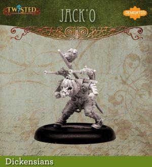 Demented Games Twisted: A Steampunk Skirmish Game  Dickensians Urkin JackO (Metal) - RDM208 -