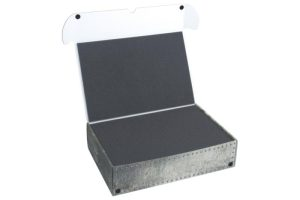 Safe and Sound   Safe and Sound Cases XL Box with two 25mm deep raster foam trays - SAFE-XL-2XR25MM - 5907222526965