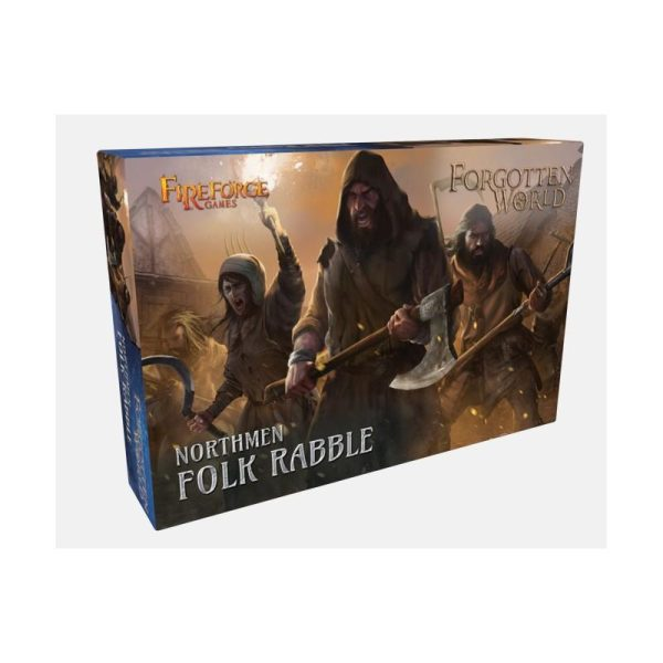 Fireforge Games   Forgotten World Northmen Folk Rabble - FWNO04-BS - 2620000001050