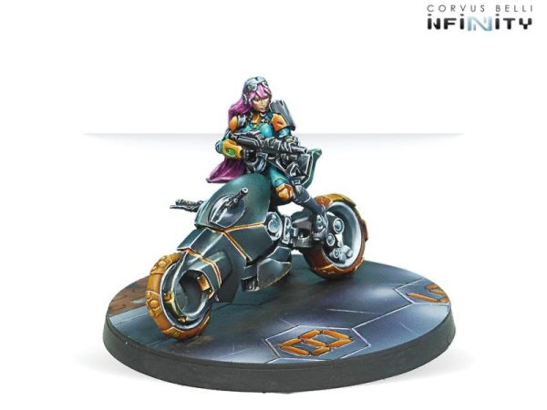 Corvus Belli Infinity  Non-Aligned Armies - NA2 Motorized Bounty Hunters (Boarding Shotgun) - 280759-0904 - 2807590009042