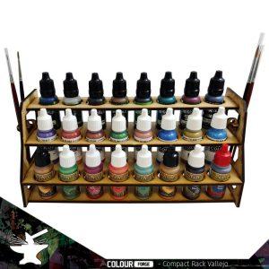 The Colour Forge   Paint Racks Compact Paint Rack (Vallejo) - TCF-ACC-003 - 5060843100614
