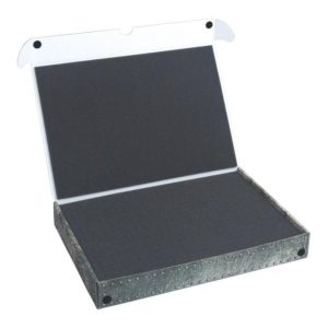 Safe and Sound   Safe and Sound Cases Standard Box with 40mm deep raster foam tray - SAFE-ST-R40MM - 5907222526842