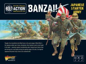 Warlord Games Bolt Action  Bolt Action Essentials Banzai! Japanese Starter Army - 402616001 - 5060393708681