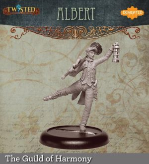 Demented Games Twisted: A Steampunk Skirmish Game  Guild of Harmony Albert the Chimey Sweep (Metal) - RGM007 -