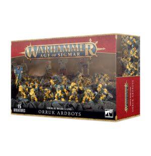 Games Workshop Age of Sigmar  Orruk Warclans Orruk Ardboyz - 99120209092 - 5011921070305