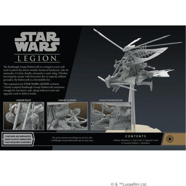 Fantasy Flight Games Star Wars: Legion  The Galactic Republic - Legion Star Wars Legion: Raddaugh Gnasp Fluttercraft - FFGSWL84 -
