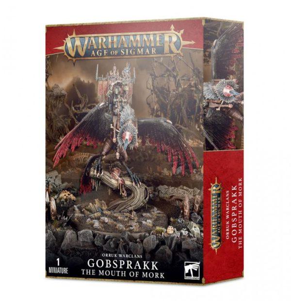 Games Workshop Age of Sigmar  Orruk Warclans Orruk Warclans Gobsprakk, The Mouth of Mork - 99120209078 - 5011921155743