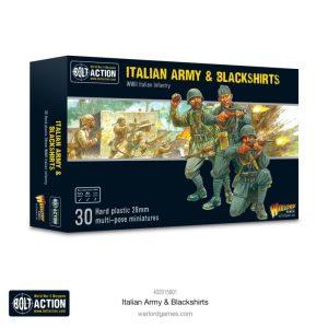 Warlord Games Bolt Action  Italy (BA) Italian Army & Blackshirts - 402015801 -