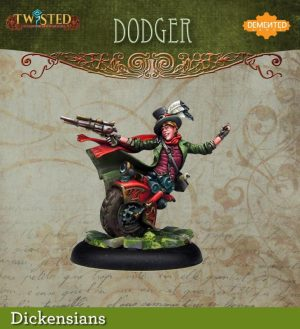 Demented Games Twisted: A Steampunk Skirmish Game  Dickensians Dodger (Resin) - RDR003 -