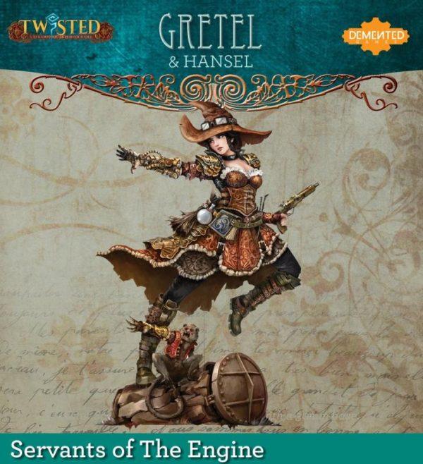 Demented Games Twisted: A Steampunk Skirmish Game  Servants of the Engine Gretel (Metal) - RSM004 -