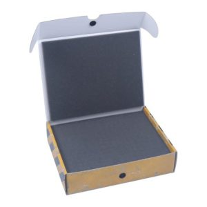 Safe and Sound   Safe and Sound Cases Half-size small box with 40mm raster foam - SAFE-HSS-R40MM - 5907222526125