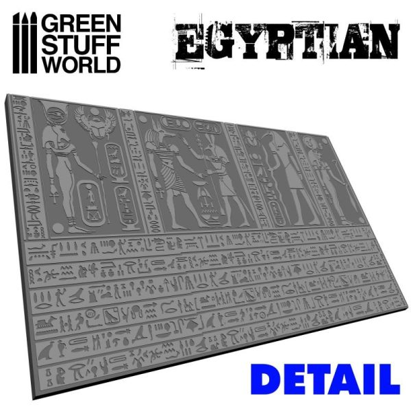Green Stuff World   Rolling Pins Rolling Pin EGYPTIAN - 8436554363759ES - 8436554363759