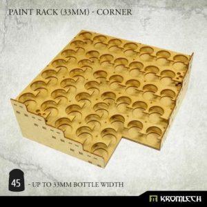 Kromlech   Paint Racks Paint Rack (33mm) - corner - KRMA075 - 5902216119475